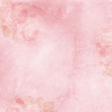 vintage elegant background with rose