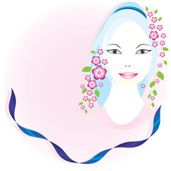 Woman of spring