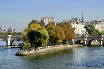 Ile de la Citée à Paris