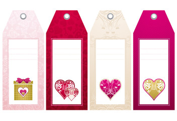 valentines  labels