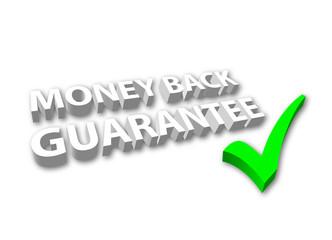 """Money Back Guarantee"""