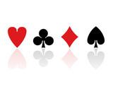 Kartenspiel Französisch