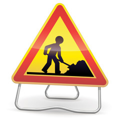 Attention travaux ! (ombre)
