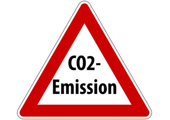 Achtung co2-emission