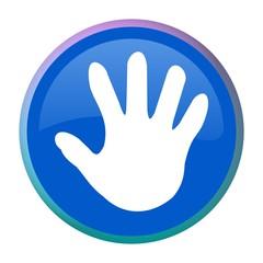 Web button - hand