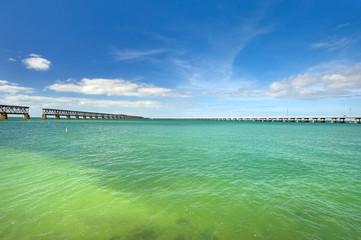 White sand beach on Lower Keys, Florida
