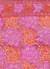 Batik indien.
