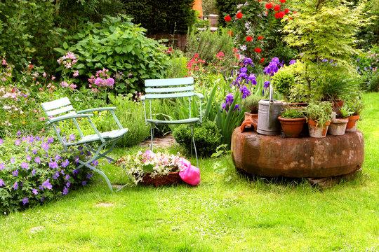 Hausgarten Stilleben