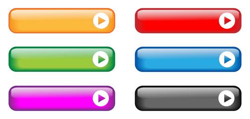 Rectangular Buttons (various colours)
