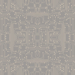 illustration of circuit board pattern