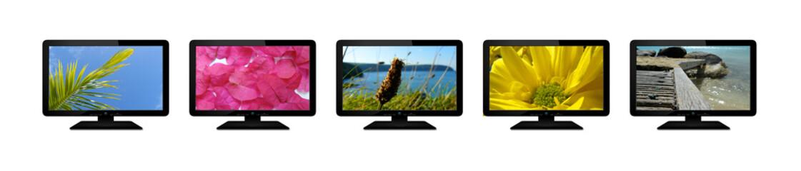 Five TV Sreens
