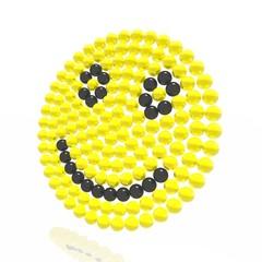 A smiling smilie