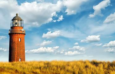 Fototapete - Ostsee Leuchtturm Prerow 2
