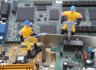 computer parts repair worker 3
