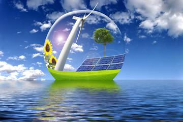Boule solaire