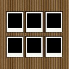 Cardboard Photo Album Page