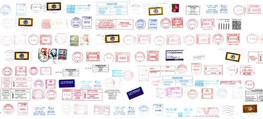 postage stamps from the world