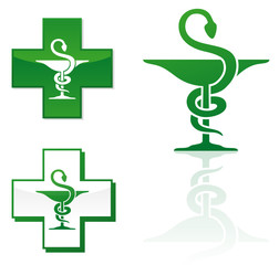 Pharmacy logotype