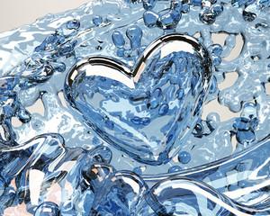 corazon agua