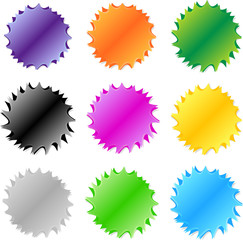 Colourful Website Swirls