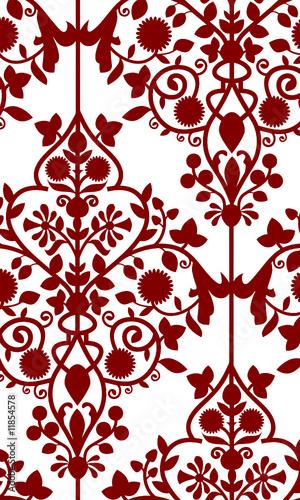 fond rouge bordeaux arabesque ancien fichier vectoriel. Black Bedroom Furniture Sets. Home Design Ideas