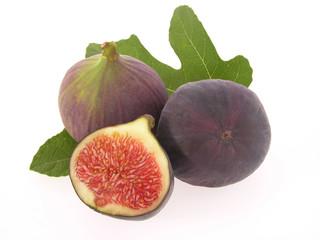 Feigen mit Blatt/figs with leaves