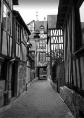 Old Rouen in B & W