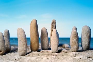 Wood of stones