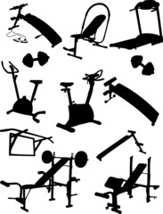 Fitness Vector Icons