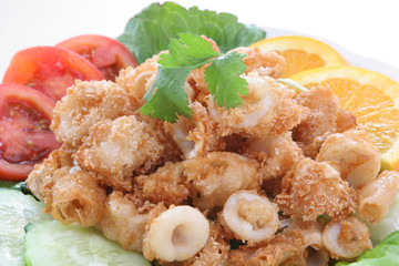 """Calamari"" Deep fried squid"