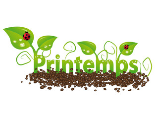 Printemps illustration