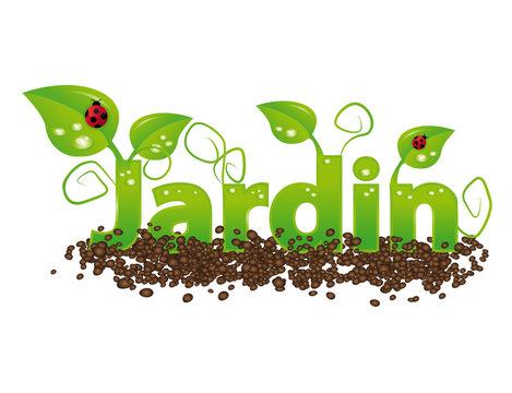 Jardin illustration