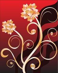 florale ornamente