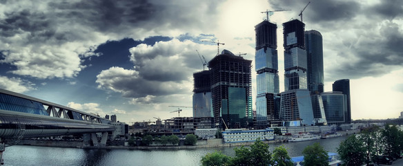 Moscow office construction