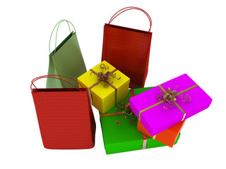 Bags, shopping and gifts
