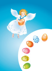 Easter reason with an angel-3