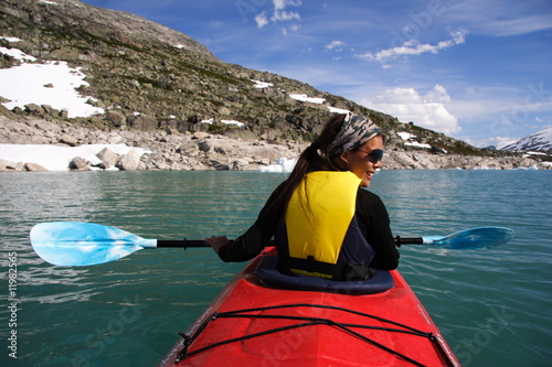 kayak woman stock photo and royalty free images on fotolia com