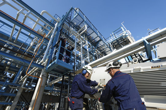 engineering and fuel industry