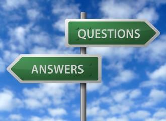 Roadside Signpost - Questions & Answers