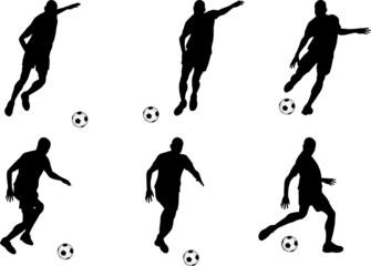 Soccer player (vector)