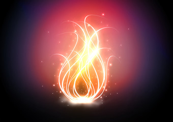Flame, Feuer
