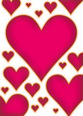 hearts bg