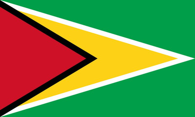 Flagge Guyana