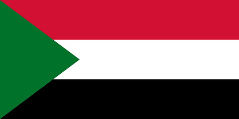 Flagge Sudan