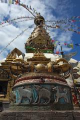 Swayambhunath Stupa (Kathmandu, Nepal)
