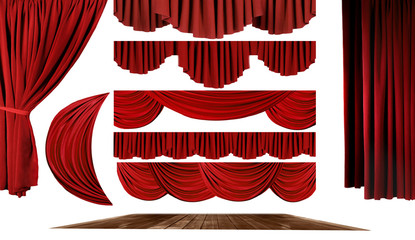 Theater Elements to Create Your Own Stage Background