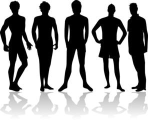 Figures of men