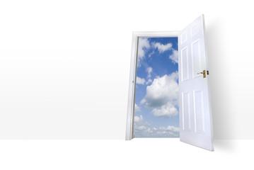 Door leading to summers sky