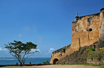 Fort Jesus in Mombasa, Kenia