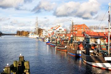 Hafen von Greifswald Wieck